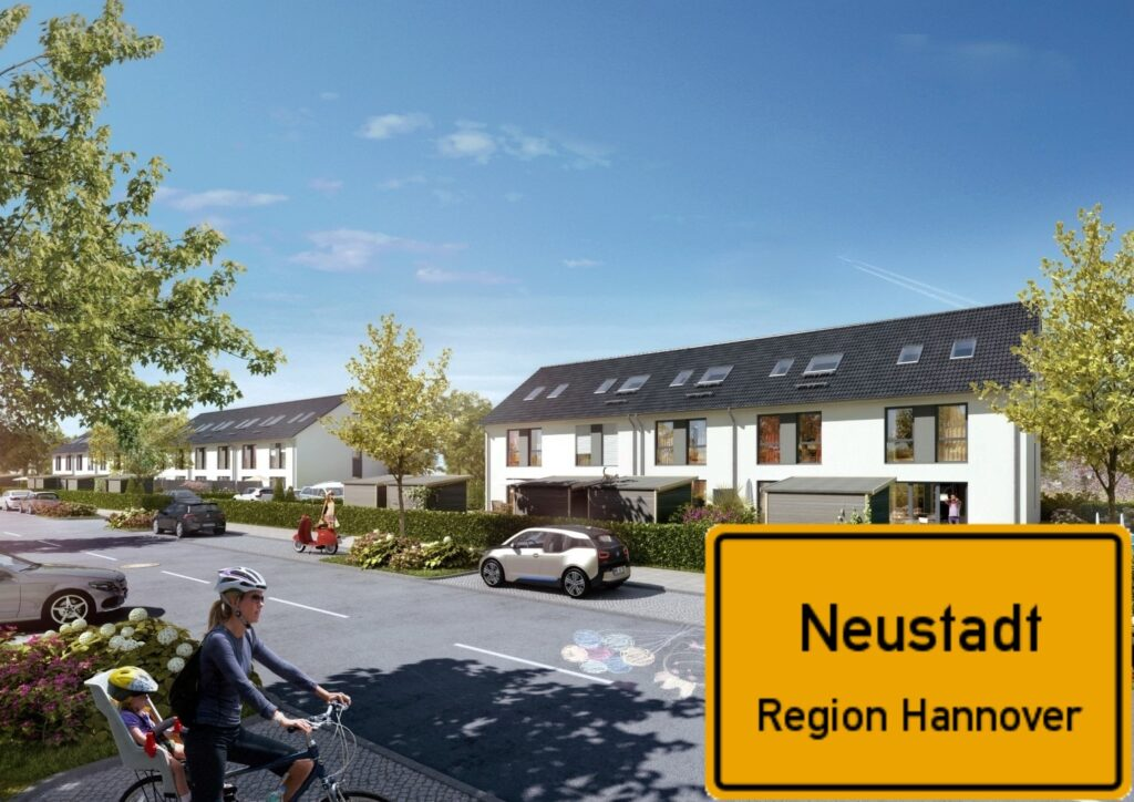 Neustädter Ensemble Neubau Reihenhäuser