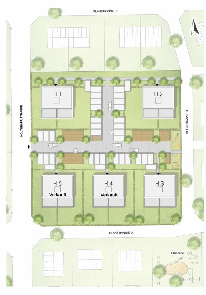 Lageplan Neubauwohnungen Groß Munzel