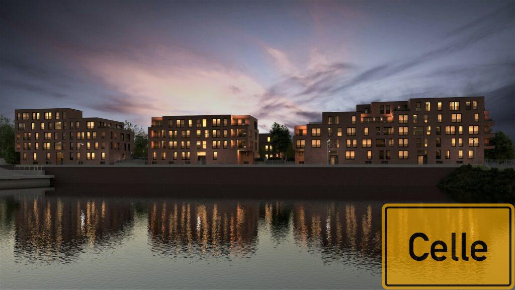 Allerinsel Celle Neubau Wohnungen verkauf
